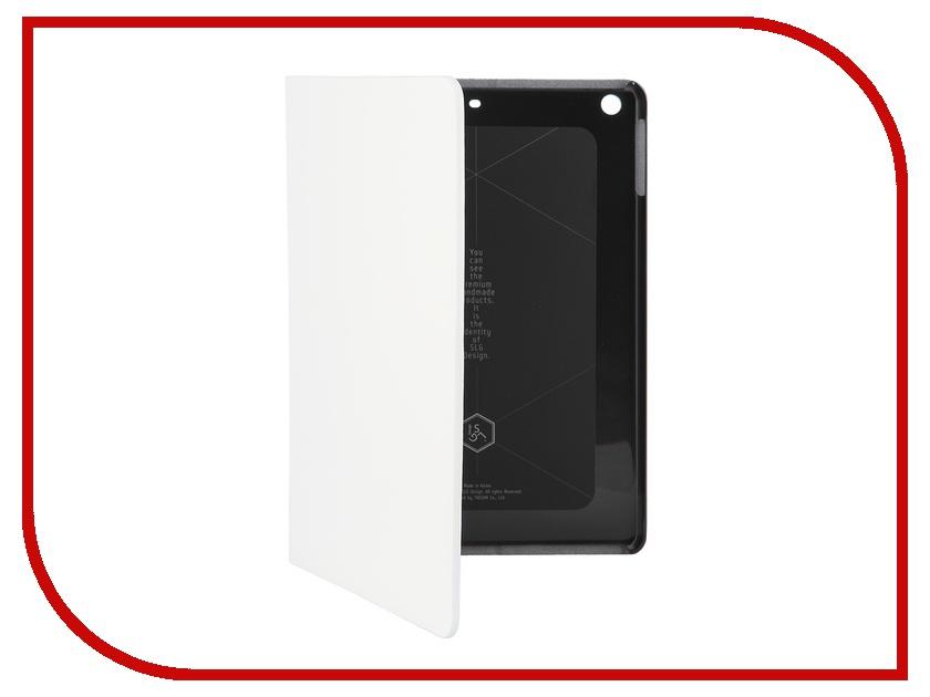 Аксессуар Чехол APPLE iPad Air SLG White D5IPА-001 кожаный<br>