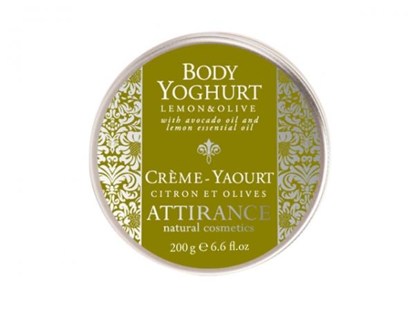 Средство для ухода за телом Attirance Лимонно-Оливковый йогурт 200 гр