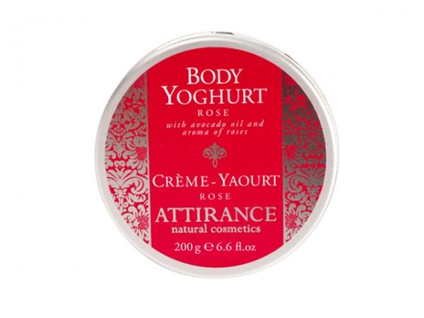 Средство для ухода за телом Attirance Роза йогурт 200 гр
