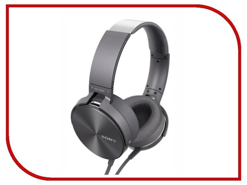 Гарнитура Sony MDR-XB950AP Grey аксессуар sony mdr ex1s