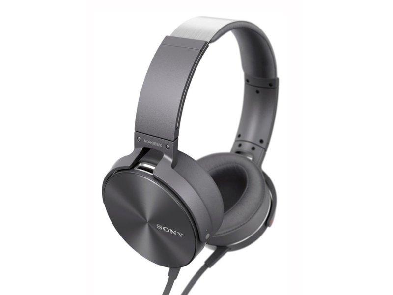 цена Sony MDR-XB950AP Grey онлайн в 2017 году
