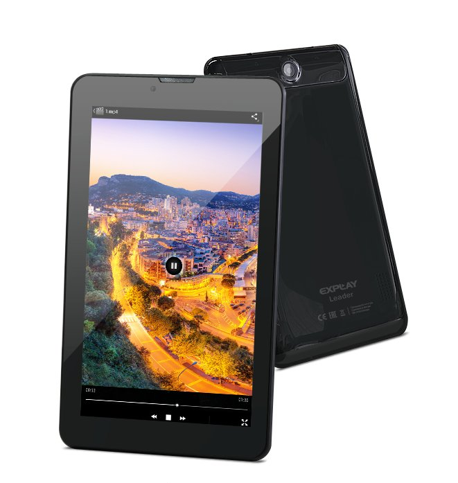 Планшет Explay Leader Black 4091723 MTK8312 1.3 GHz/512Mb/4Gb/3G/Wi-Fi/Bluetooth/GPS/Cam/7.0/1024x600/Android