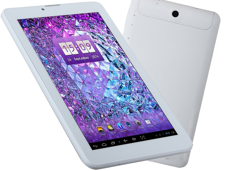 Планшет Explay Leader White 4091724 MTK8312 1.3 GHz/512Mb/4Gb/3G/Wi-Fi/Bluetooth/GPS/Cam/7.0/1024x600/Android