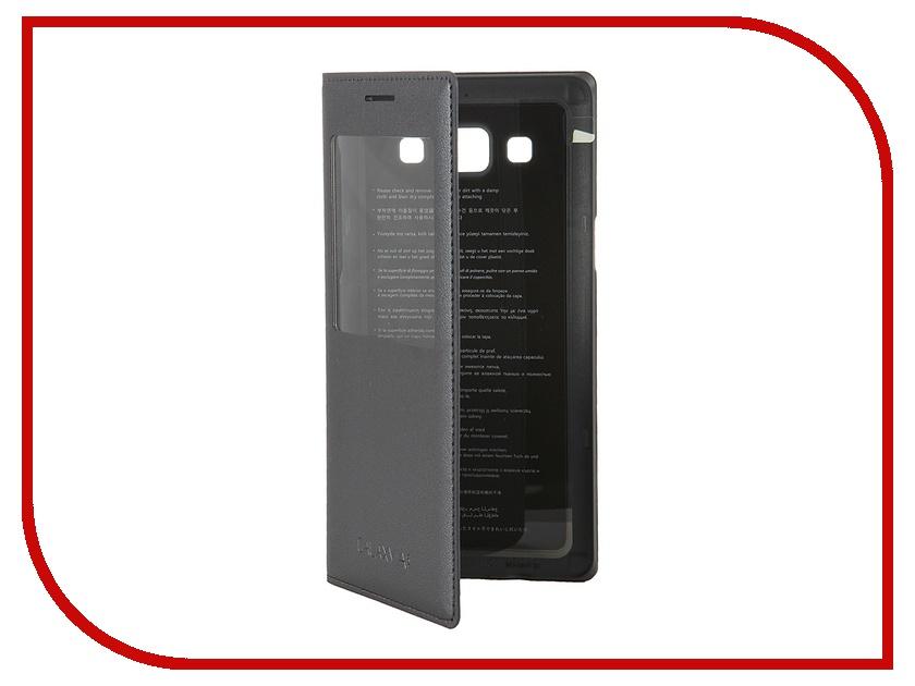 Аксессуар Чехол Samsung SM-A500F Galaxy A5 S-View Black EF-CA500BCEGRU<br>