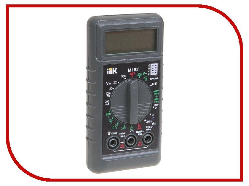 Мультиметр IEK Compact M182 TMD-1S-182 лампа светодиодная iek 422008