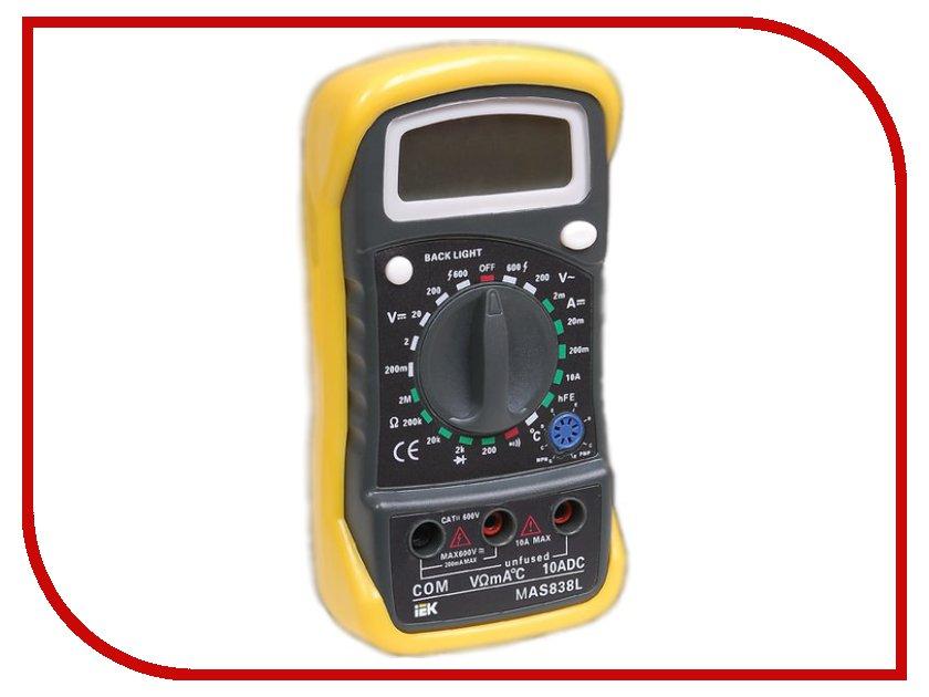Мультиметр IEK Master MAS838L TMD-3L-838