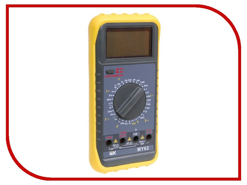 Мультиметр IEK Professional MY61 TMD-5S-061 лампа светодиодная iek 422008