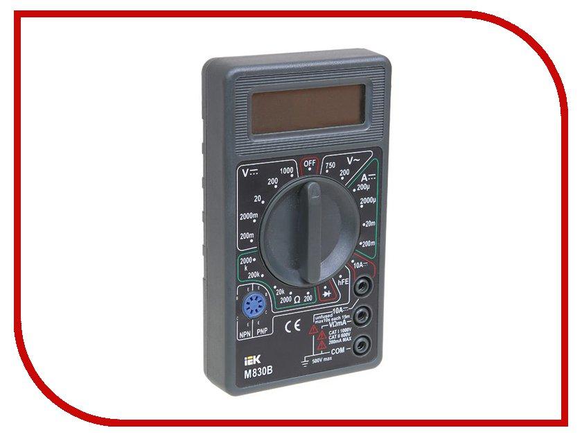 Мультиметр IEK Universal M830B TMD-2B-830 мультиметр iek professional my61 tmd 5s 061