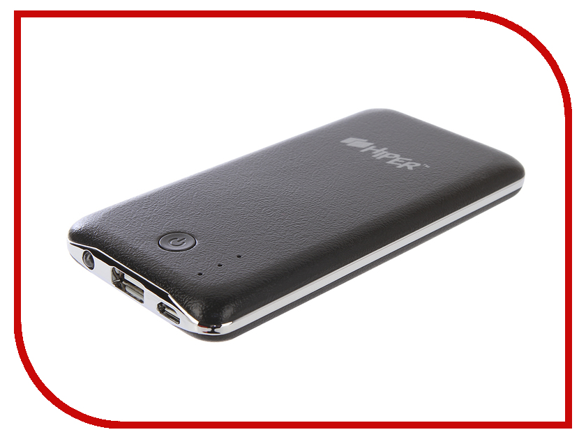 Аккумулятор HIPER Power Bank XP6500 6500 mAh Black<br>