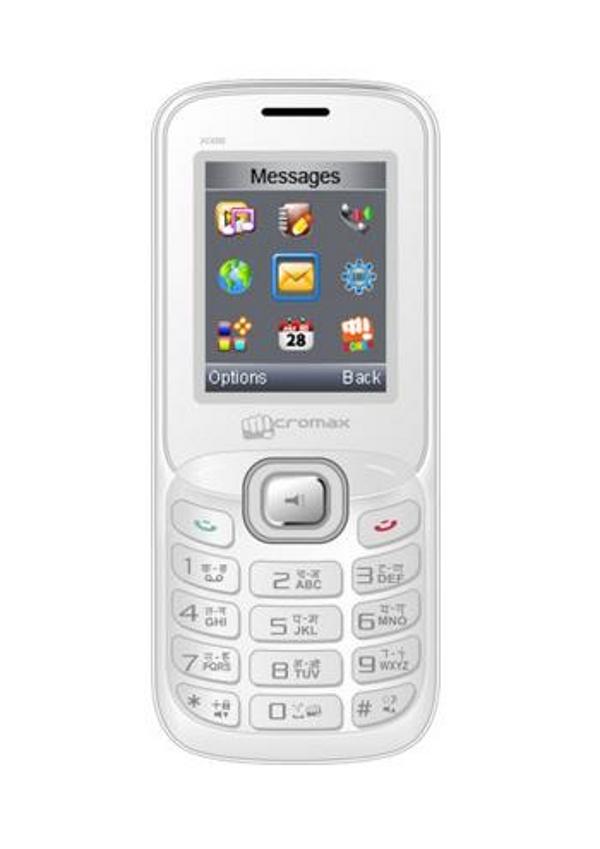 Сотовый телефон Micromax X088 White Silver<br>