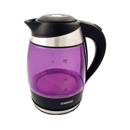 Чайник Starwind SKG2217 Purple-Black