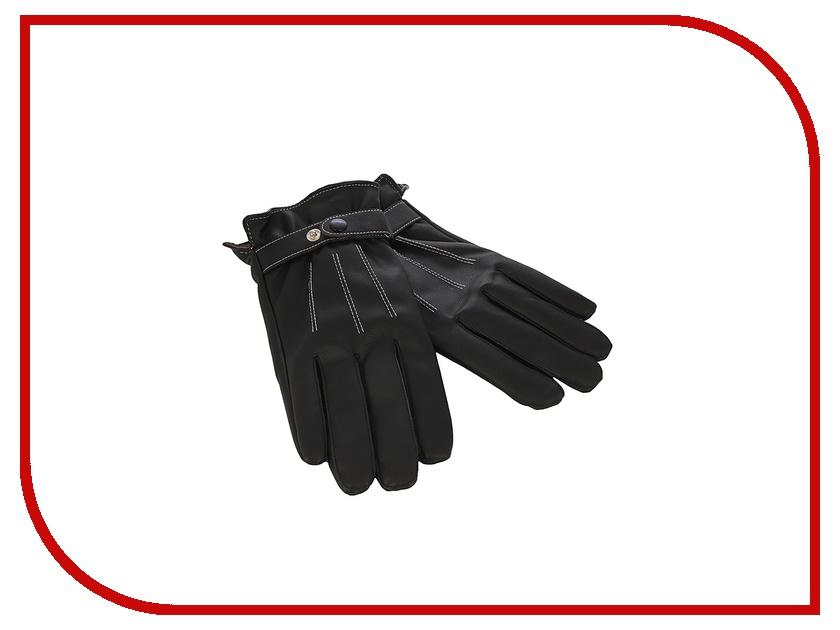 Теплые перчатки для сенсорных дисплеев iCasemore искуственная кожа р.UNI Black<br>
