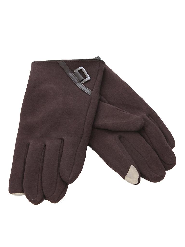 Теплые перчатки для сенсорных дисплеев iCasemore кашемировые Brown<br>