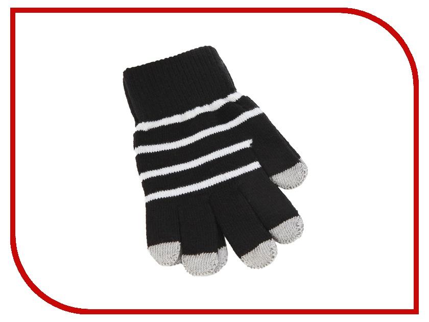 Теплые перчатки для сенсорных дисплеев iCasemore трикотажные р.UNI Black