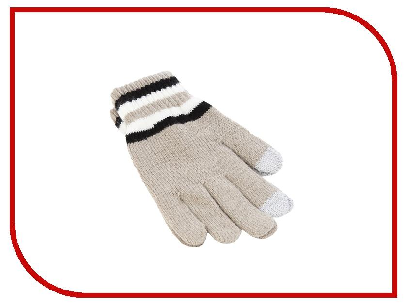 Теплые перчатки для сенсорных дисплеев iCasemore трикотажные Khaki<br>