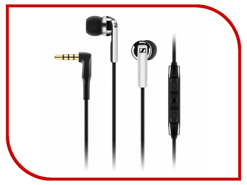 Гарнитура Sennheiser CX 2.00G Black<br>