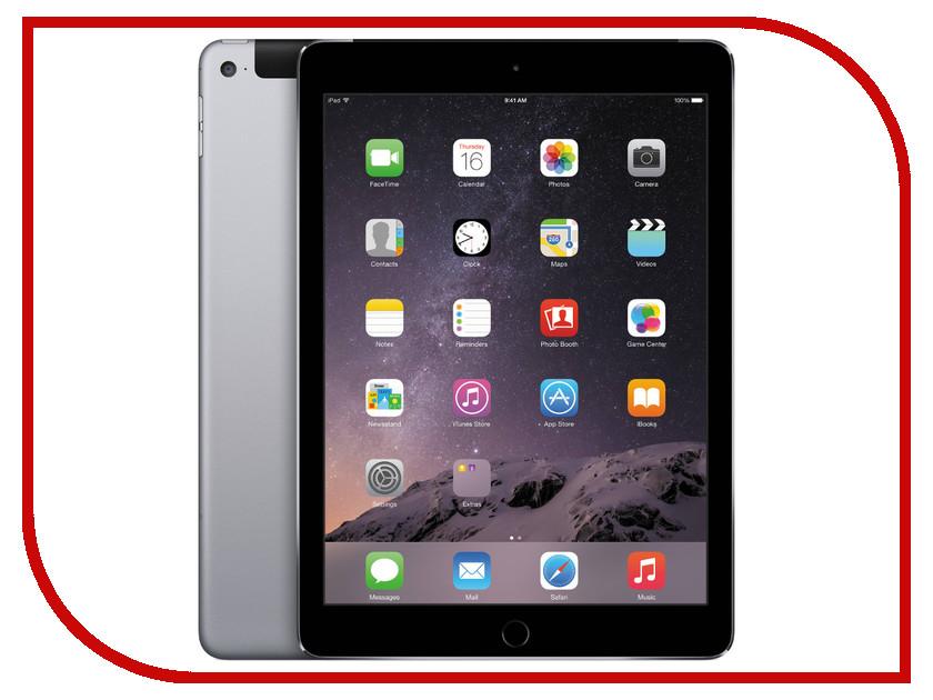 Планшет APPLE iPad Air 2 16Gb Wi-Fi + Cellular Space Gray MGGX2RU/A