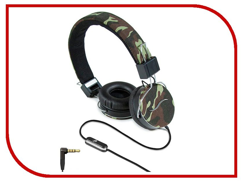 Гарнитура Hi-Fun hi-Deejay Army Green гарнитура hi fun hi deejay dark denim