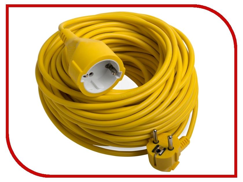 Удлинитель Electraline H05VV-F 10m Yellow 01640