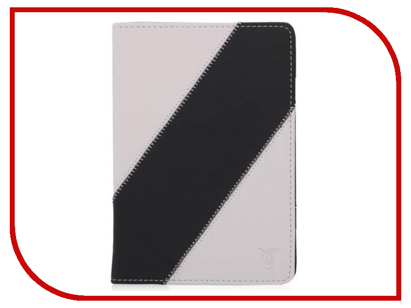 Аксессуар Чехол for PocketBook 640/626/614/624/623/622/613 Vivacase Fantasy White-Black VPB-C613FWh-Bl