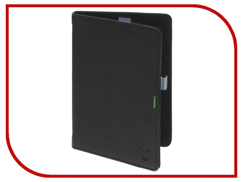 Аксессуар Чехол for PocketBook 640/626/624/614/623/622 Vivacase GreenLine Black VPB-FP622Bl