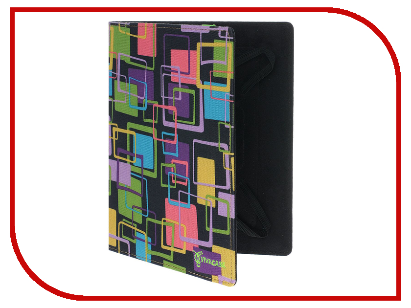 Аксессуар Чехол 7.0-inch Vivacase Square универсальный VUC-CSQ07P<br>