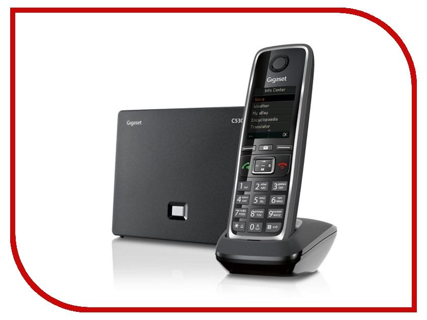 Фото VoIP оборудование Gigaset C530A IP Black