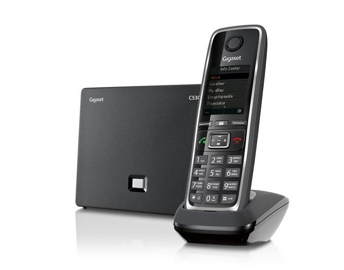 VoIP оборудование Gigaset C530A IP Black gigaset c530a ip черный