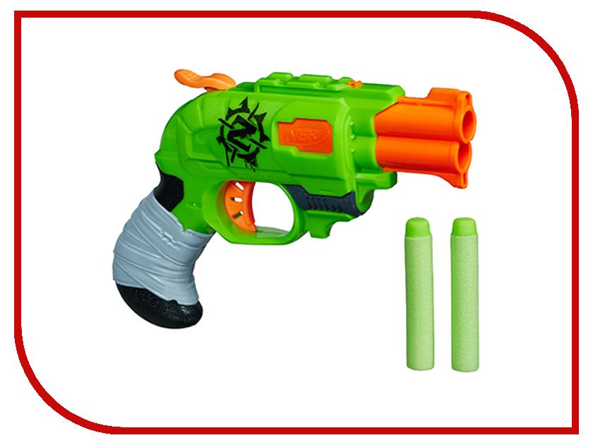 Игрушка Hasbro NERF Зомби двойная атака A6562 бластер nerf зомби страйк двойная атака a6562