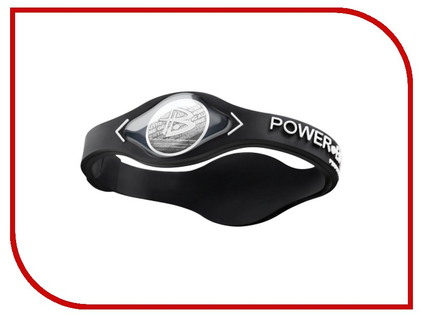Браслет POWER BALANCE L Black Coll Black/Silver