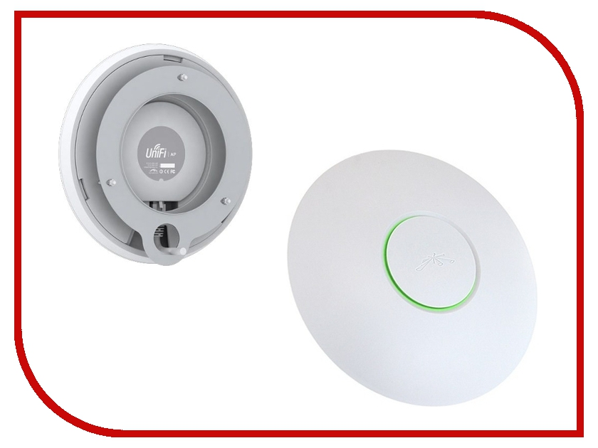 Точка доступа Ubiquiti UniFi AP LR 3-Pack UAP-LR-3 точка доступа ubiquiti unifi ap ac in wall 802 11ac 867мбит с 2 4ггц и 5ггц