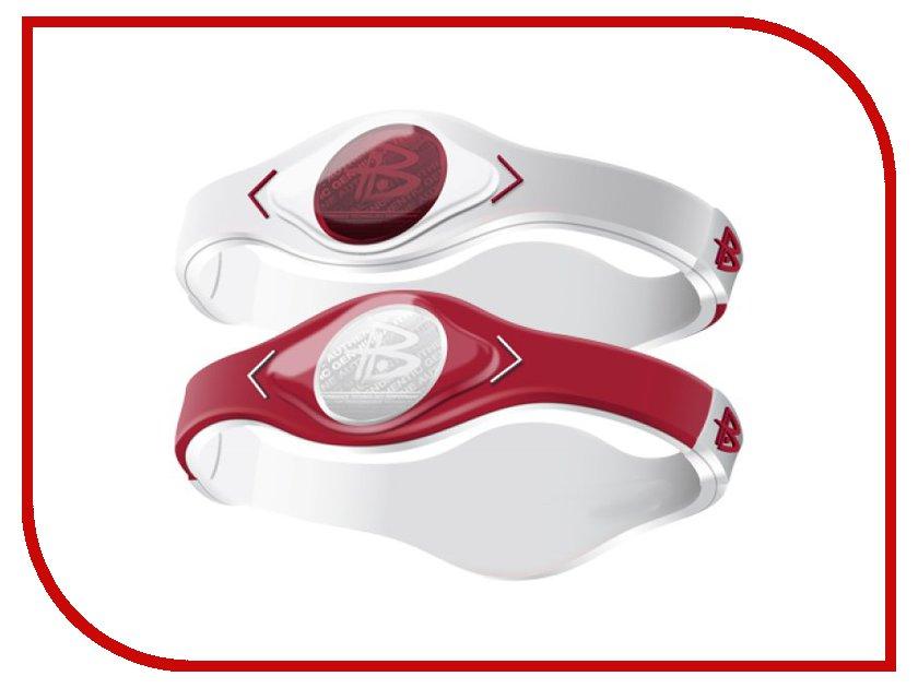 Браслет POWER BALANCE M GAMEDAY Red/White