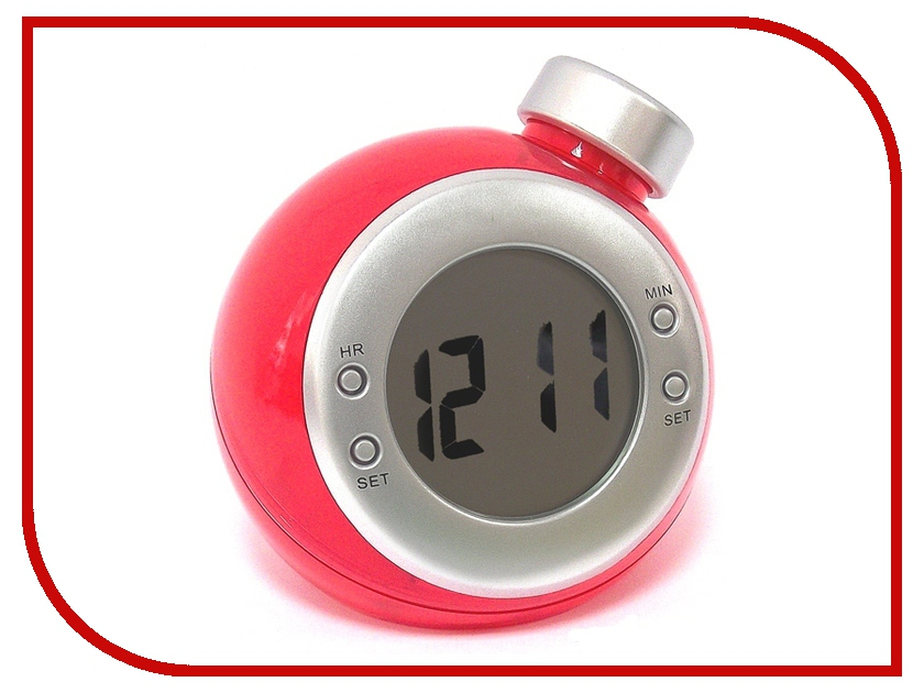 Гаджет Часы водные Эврика 94572 Red
