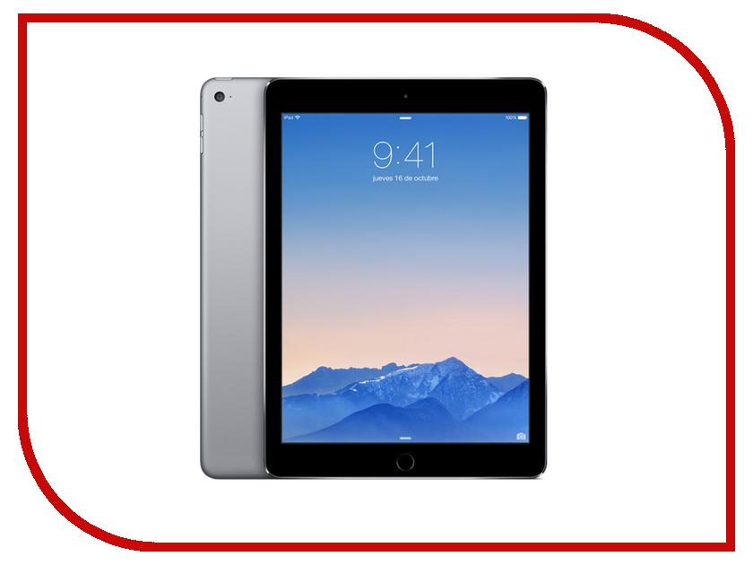 Планшет APPLE iPad Air 2 128Gb Wi-Fi Space Gray MGTX2RU/A