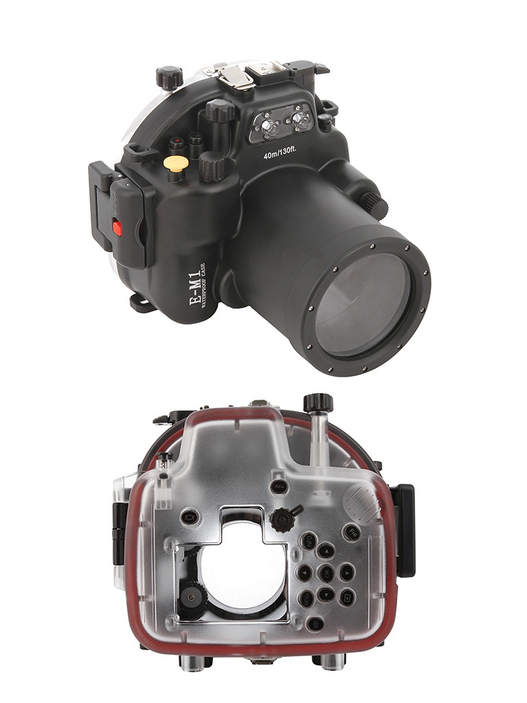 Аквабокс Meikon E-M1 для Olympus E-M1 12-40mm