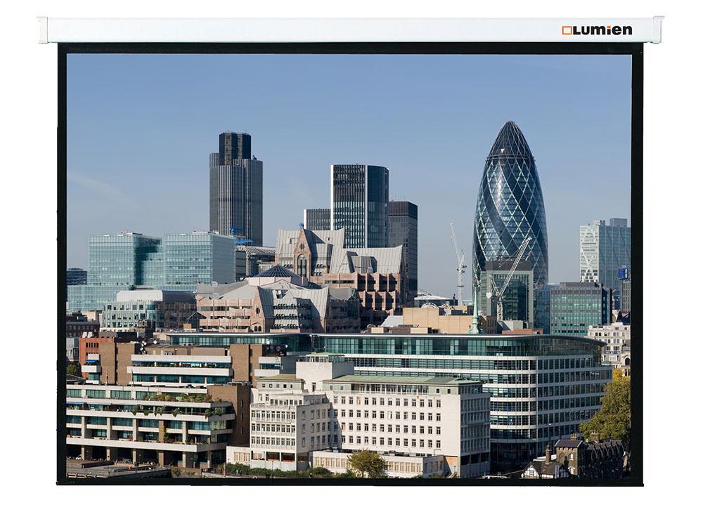 Экран Lumien Master Control LMC-100107 128x171cm Matte White FiberGlass с электроприводом<br>