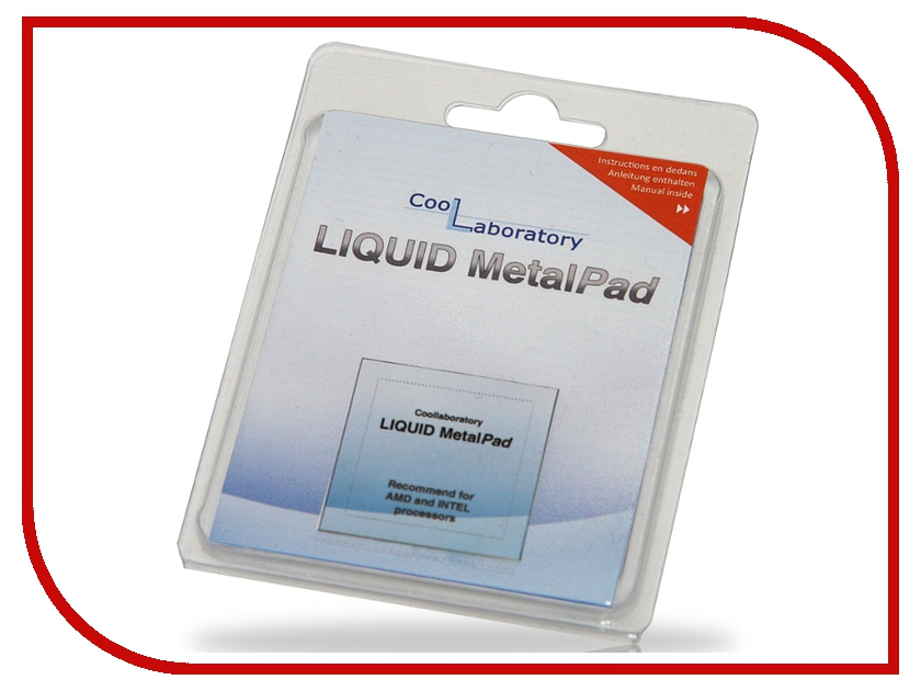Аксессуар Coollaboratory Liquid MetalPad 1xCPU CL-MP-1C 580046<br>