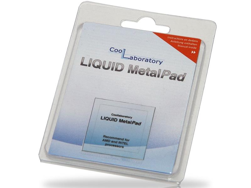 Аксессуар Coollaboratory Liquid MetalPad 1xCPU CL-MP-1C 580046