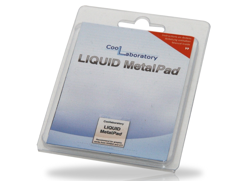Coollaboratory Liquid MetalPad 1xGPU CL-MP-1G 580039