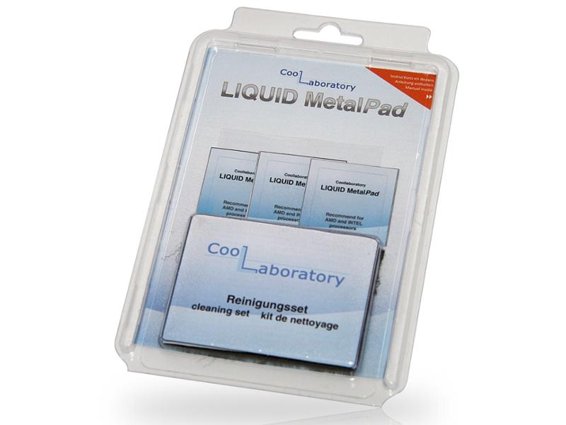 Аксессуар Coollaboratory Liquid MetalPad 3xCPU + CS 580060 от Pleer