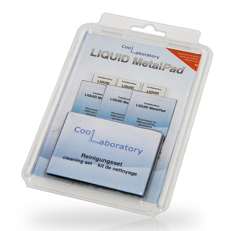Аксессуар Coollaboratory Liquid MetalPad 3xGPU + CS CL-MP-3G-CS 580053