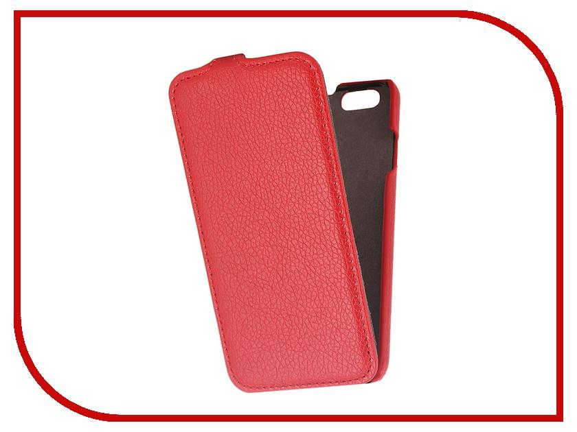 Аксессуар Чехол Partner Flip-case для iPhone 6 4.7-inch Red<br>