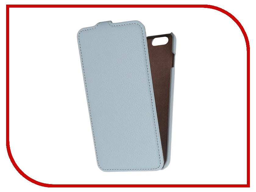 Аксессуар Чехол Partner Flip-case for iPhone 6 Plus 5.5-inch Blue<br>
