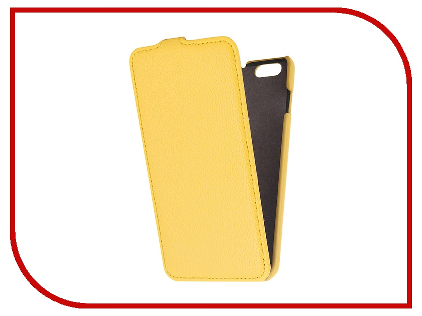 Аксессуар Чехол Partner Flip-case for iPhone 6 Plus 5.5-inch Yellow<br>