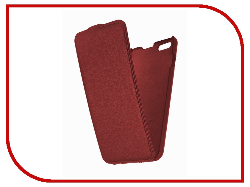 Аксессуар Чехол Partner Flip-case for iPhone 6 Plus 5.5-inch Red