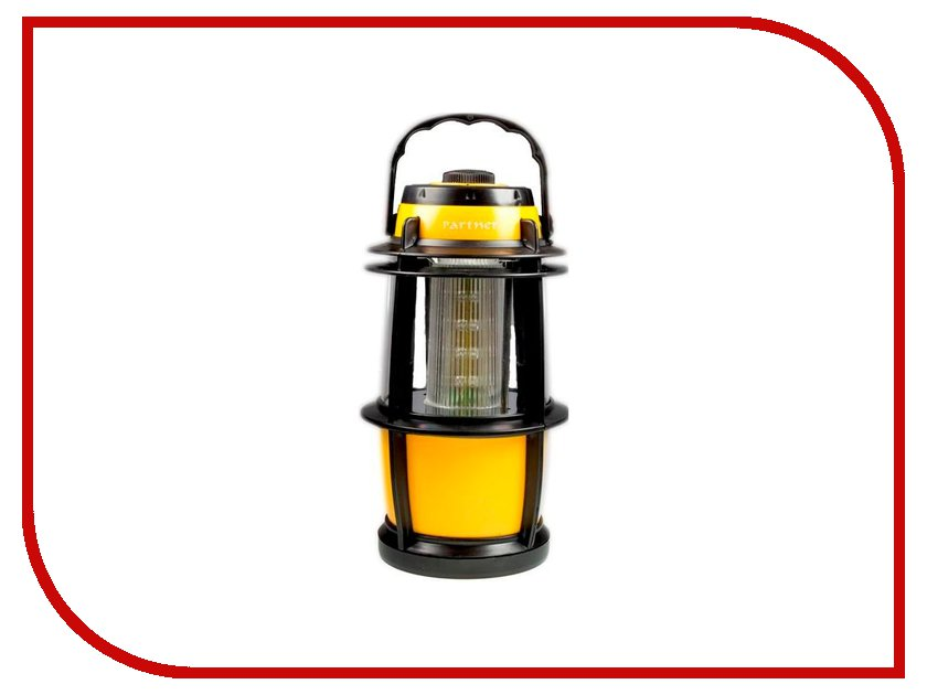 Фонарь Partner Solar Yellow-Black<br>
