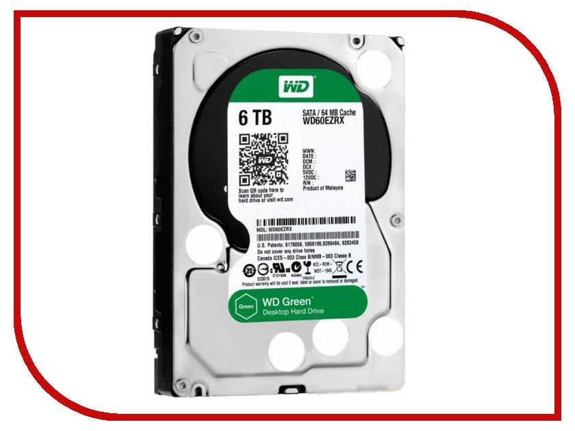 Жесткий диск 6Tb - Western Digital WD60EZRX<br>