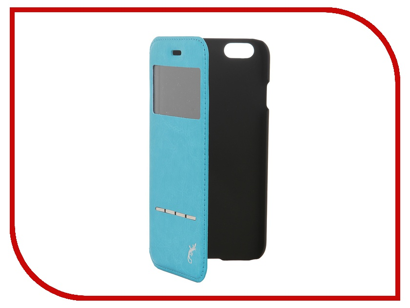 Аксессуар Чехол G-Case Slim Premium для iPhone 6 4.7-inch Blue GG-538<br>