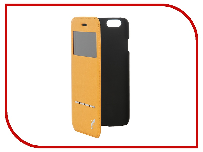 Аксессуар Чехол G-Case Slim Premium для iPhone 6 4.7-inch Orange GG-539<br>
