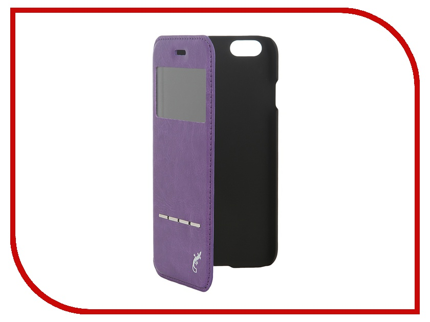 Аксессуар Чехол G-Case Slim Premium для iPhone 6 4.7-inch Purple GG-540<br>